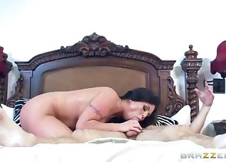 Big-tit mature fucks in the doggy style