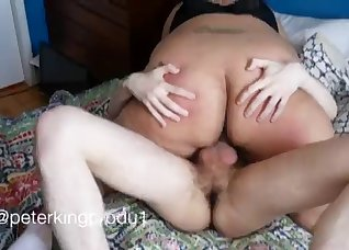 Chubby BBW cheats on her lovely husband