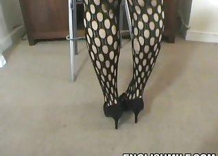 Beautiful BBW presents her amazing big ass