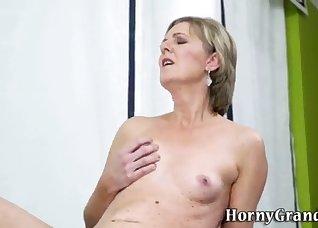 Hot and slutty mature sucks with pleasure